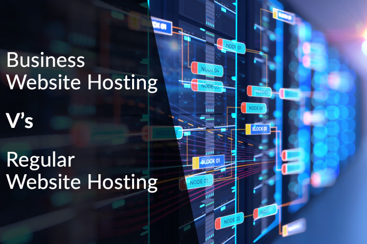 Business Website Hosting V's Regular Website Hosting